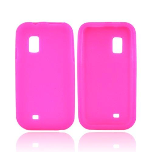 Samsung Fascinate i500 Silicone Case - Hot Pink