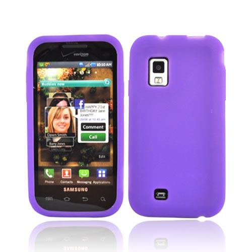 Samsung Fascinate i500 Silicone Case - Purple