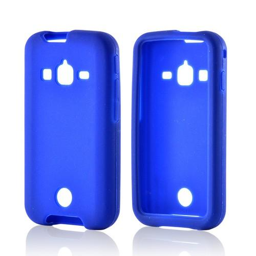 Blue Silicone Case for Samsung Galaxy Rugby Pro