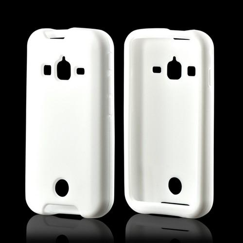 White Silicone Case for Samsung Galaxy Rugby Pro