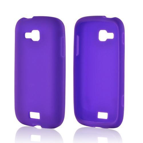Purple Silicone Case for Samsung ATIV Odyssey