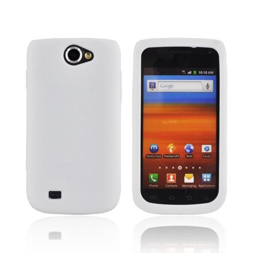 Samsung Exhibit 2 4G Silicone Case - Solid White