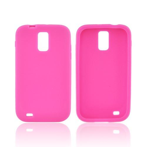 T-Mobile Samsung Galaxy S2 Silicone Case - Hot Pink