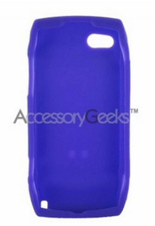 T-Mobile Sidekick LX 2009 Silicone Case, Rubber Skin - Purple