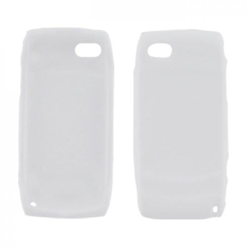 T-Mobile Sidekick LX 2009 Silicone Case, Rubber Skin - Solid White