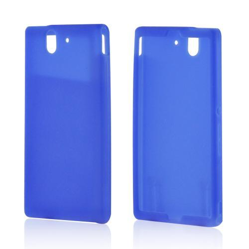 Blue Silicone Case for Sony Xperia Z