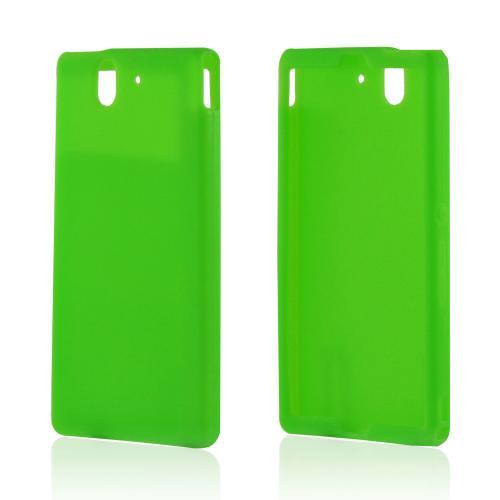 Neon Green Silicone Case for Sony Xperia Z