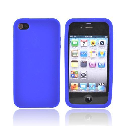 Apple Verizon/ AT&T iPhone 4, iPhone 4S Silicone Case - Blue