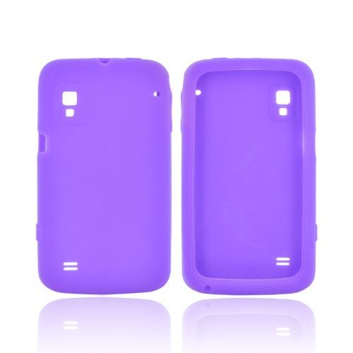 ZTE Warp N860 Silicone Case - Purple