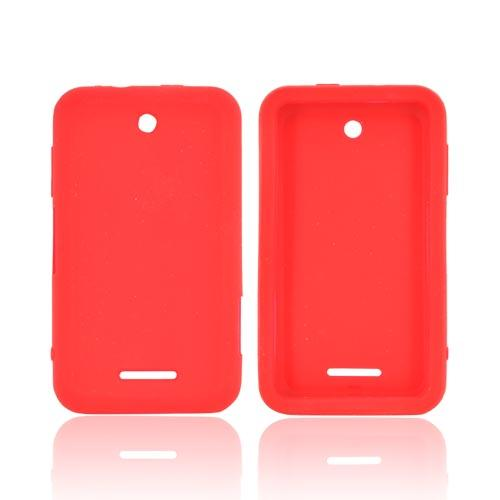ZTE Score X500 Silicone Case - Red