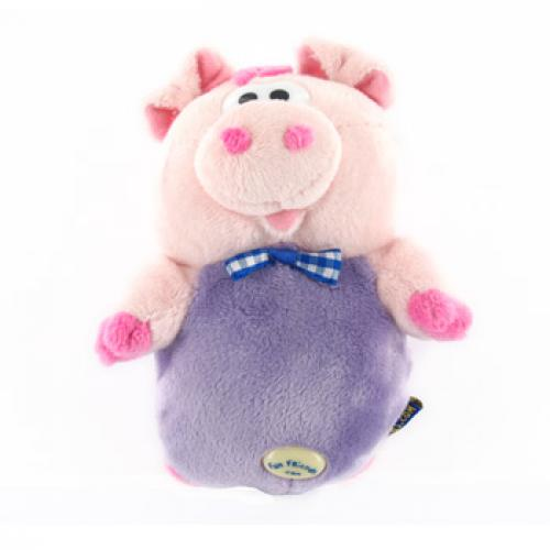 Fun Friends Plush Piggy Animal Universal Cell Phone Case for Bar Size Phones