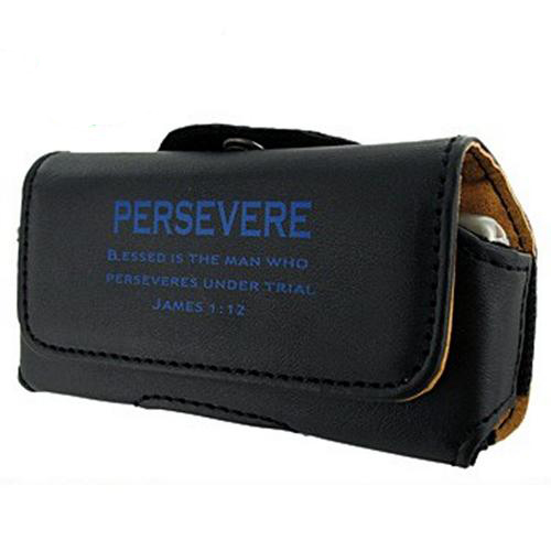 Universal Persevere Horizontal Pouch - Black (BUT size)