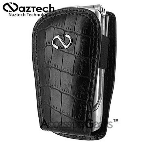 Naztech Caiman Cell Phone Case w/ Belt Clip (FUT) - Black