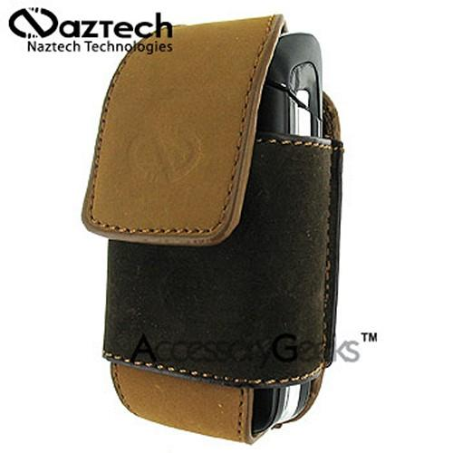 Naztech Vertical Suede Sahara Cell Phone Case w/ Belt Clip (FS)