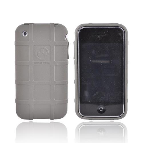 Original Magpul Apple iPhone 3G 3GS Field Crystal Silicone Case, MAG449-FOL - Gray