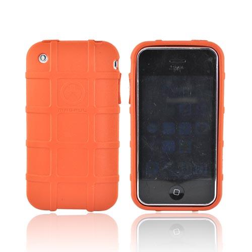 Original Magpul Apple iPhone 3G 3GS Field Crystal Silicone Case, MAG449-ORG - Orange