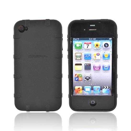 Original Magpul Apple iPhone 4 Executive Field Crystal Silicone Case, MAG450-BLK - Black