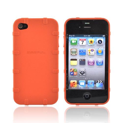 Original Magpul Apple AT&T iPhone 4 Executive Field Crystal Silicone Case, MAG450-ORG - Orange