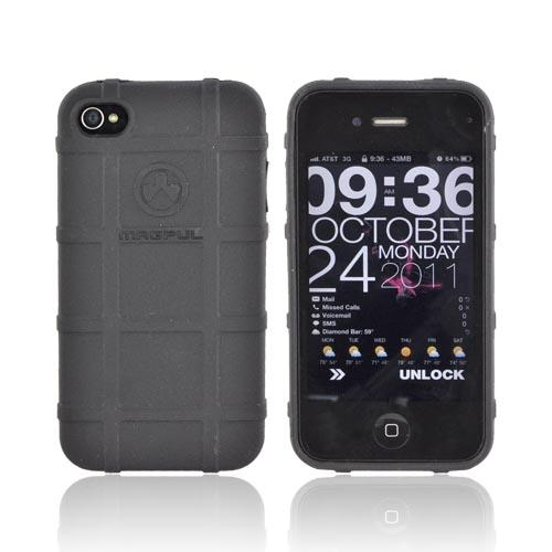 Original Magpul Apple AT&T iPhone 4 Field Crystal Silicone Case, MAG451-BLK - Black