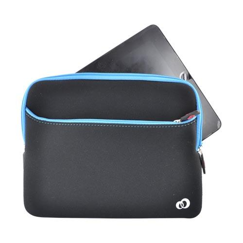 Original Kroo USA Apple iPad (All Gen.) Neoprene Glove 2 Sleeve Case, MIPAG2B1 - Blue/Black