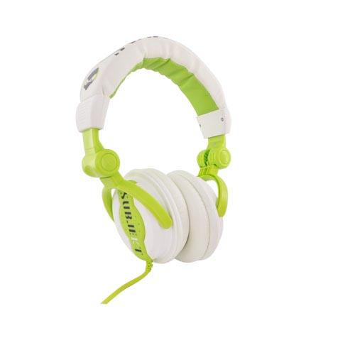Original Subjekt Block Party DJ Heaphones, MK-AG8100G - Green/White (3.5mm)