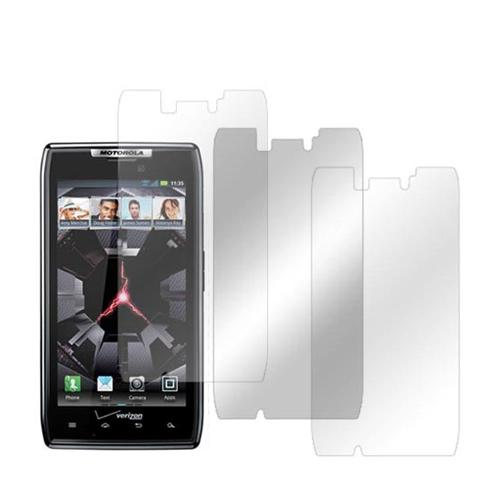 Motorola Droid RAZR/ RAZR MAXX Screen Protector Medley w/ Regular, Anti-Gloss, & Mirror Screen Protectors