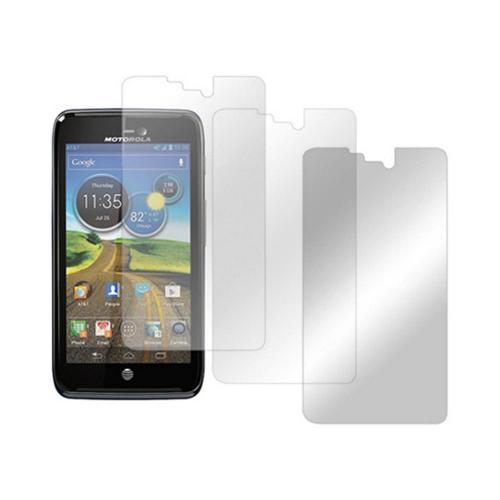 Motorola Atrix HD Screen Protector Medley w/ Regular, Anti-Glare, & Mirror Screen Protectors