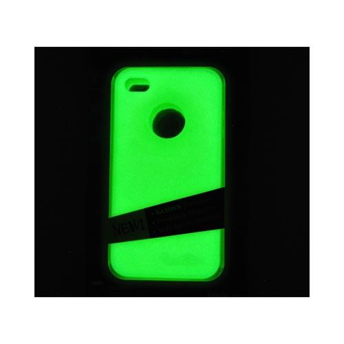 Original MoonSkins AT&T/ Verizon Apple iPhone 4, iPhone 4S Glow-In-The-Dark Crystal Silicone Case, MSK-IY01-01 - Yellow