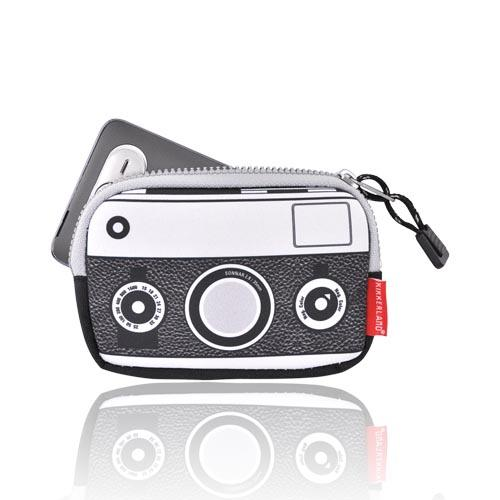 Original Kikkerland Universal Camera/Phone Pouch (PUTXL), OR03 - Black/White Camera