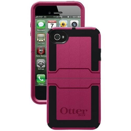 OTTERBOX APL7-I4SUN-94-E4OTR_A IPHONE 4S REFLEX SERIES CASE (DEEP PLUM)