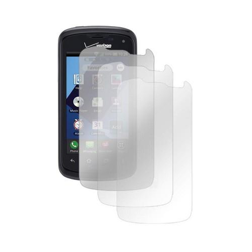 Pantech Marauder Screen Protector Medley w/ Regular, Anti-Glare, & Mirror Screen Protectors