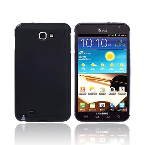 Original Rearth Samsung Galaxy Note Ringke Slim Hard Case w/ Screen Protector - Matte Black