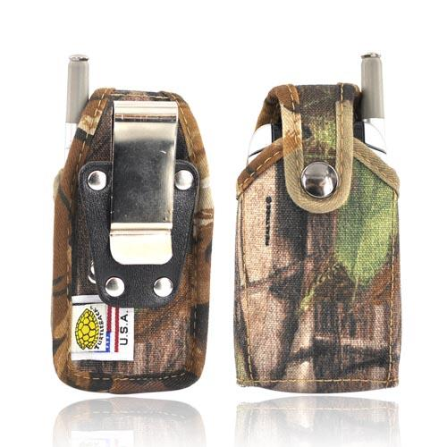 Original TurtleBack Premium Universal Heavy Duty Nylon Case w/ Steel Belt Clip - Camouflage FUT