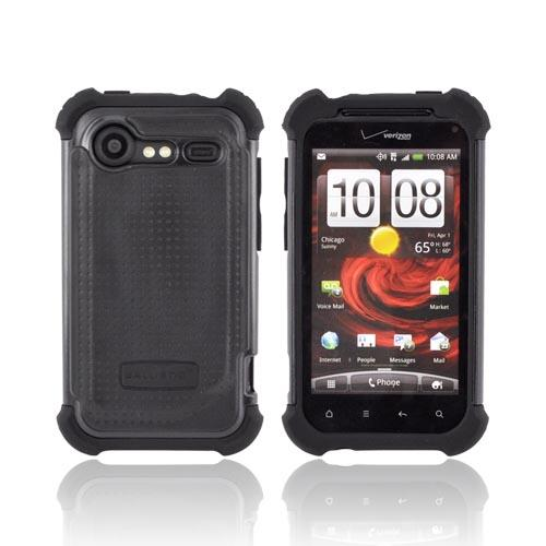 Original Ballistic HTC Droid Incredible 2 SG Hard Case on Silicone, SA0596-M005 - Black