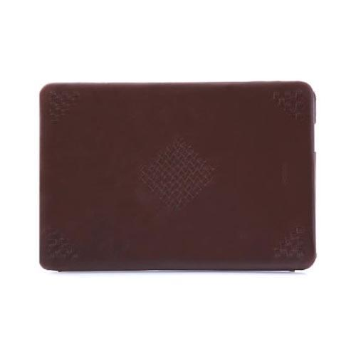 Original Zenus Samsung Galaxy Tab 10.1 Prestige Mesh Patch Stand Series Leather Case, SAG10-PLMST-BC - Brown Chocolate w/ Brown Interior