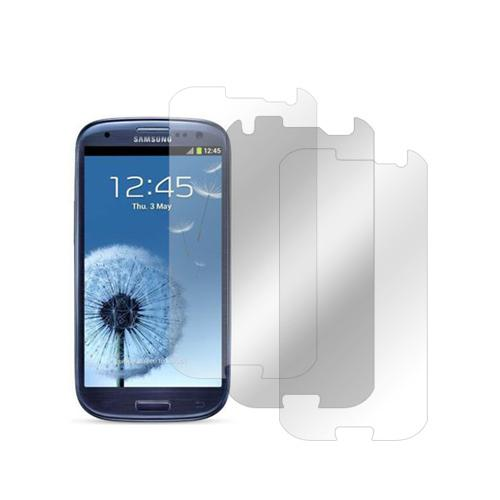 Samsung Galaxy S3 Screen Protector Medley w/ Regular, Anti-Gloss, & Mirror Screen Protectors