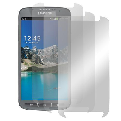 Screen Protector Medley w/ Regular, Anti-Glare, & Mirror Screen Protectors for Samsung Galaxy S4 Active