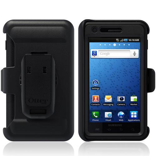 Original Otterbox Defender Series Samsung Infuse 4G i997 Case w/ Holster & Built-in Screen Protector, SAM2-INFUS-20-E40TR - Black