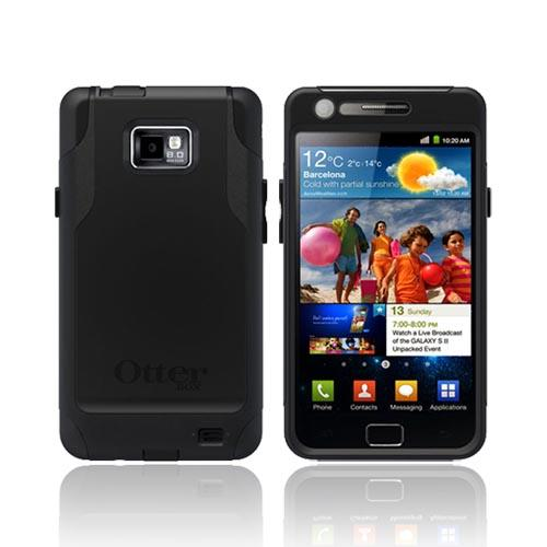 Original Otterbox Commuter Series AT&T Samsung Galaxy S2 Hard Case w/ Screen Protector, SAM4-I777X-20-E4OTR - Black