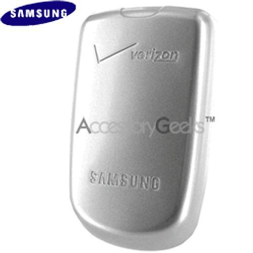 Original Verizon Samsung A850 Extended Battery - Silver