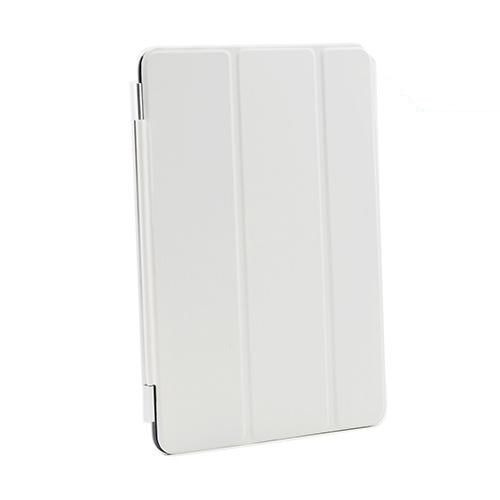 White Smart Protective Cover/ Stand for Apple iPad Mini