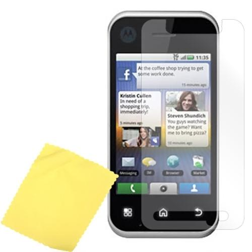 Premium Motorola Backflip MB300 Anti-Glare Screen Protector