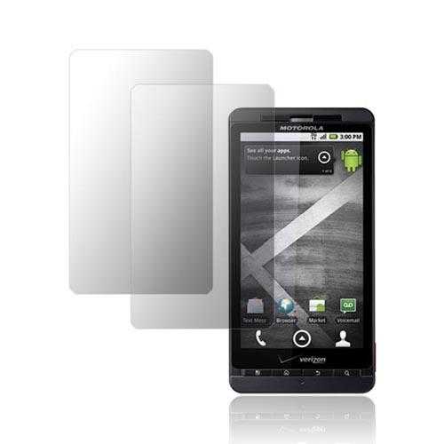 Premium Motorola Droid X / X2 Anti-Gloss Screen Protector (2 Pack)