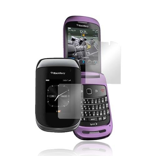 Blackberry Style 9670 Screen Protector w/ Mirror Effect