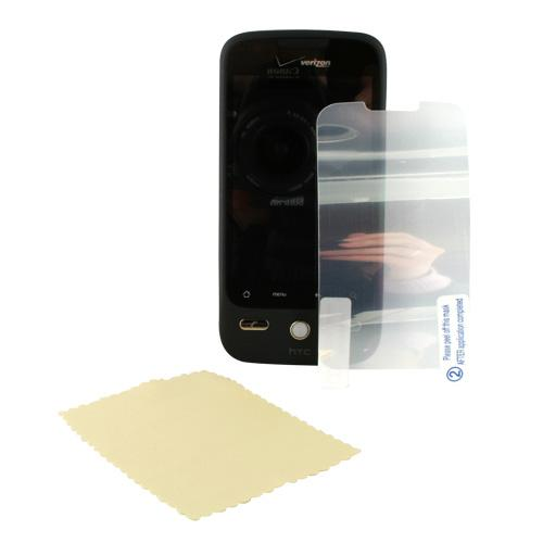 HTC Droid Eris S6200 High Quality Screen Protector w/ Mirror Effect