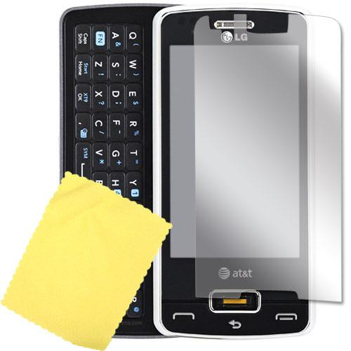 LG Expo GW820 High Quality Screen Protector w/ Mirror Effect