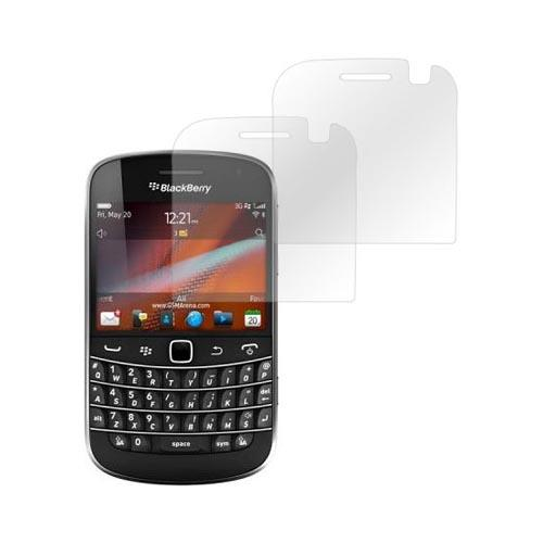Premium Blackberry Bold 9900, 9930 Screen Protector (2 Pack) - Clear