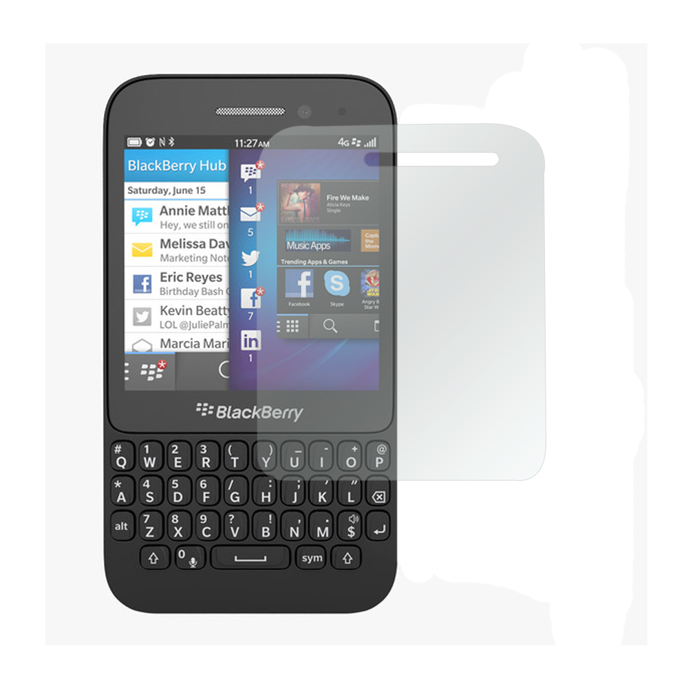 Clear Screen Protector for Blackberry Q5