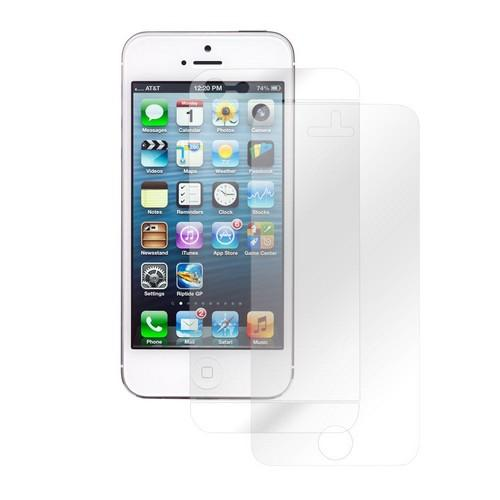 Clear Front and Back Screen Protector for Apple iPhone 5/5S/5C