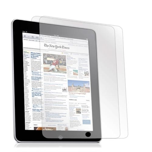 Premium Apple iPad (1st Gen) High Quality Screen Protector 2-Piece Pack